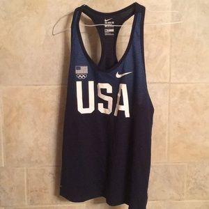 Nike USA Olympic tee athletic cut